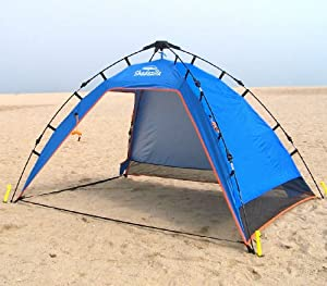 pop up beach cabana tent color blue childrens play tents garden outdoor. Black Bedroom Furniture Sets. Home Design Ideas