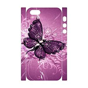 VNCASE Butterfly Phone Case For iPhone 5,5S [Pattern-1]