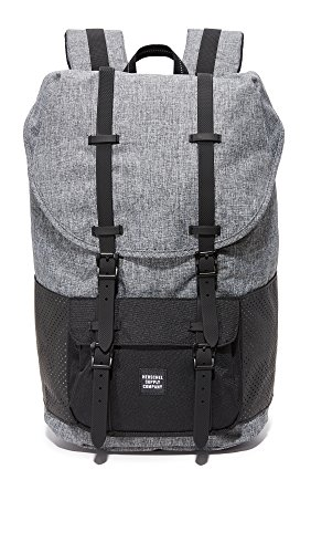 Herschel Supply Co. Men's Aspect Little America Backpack, Raven Crosshatch/Black Rubber, One Size