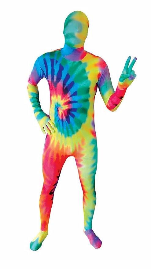 Morphsuit segunda piel tie die de colores flúor