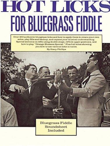 Hot Licks for Bluegrass Fiddle Bluegrass Fiddle Sheet Music