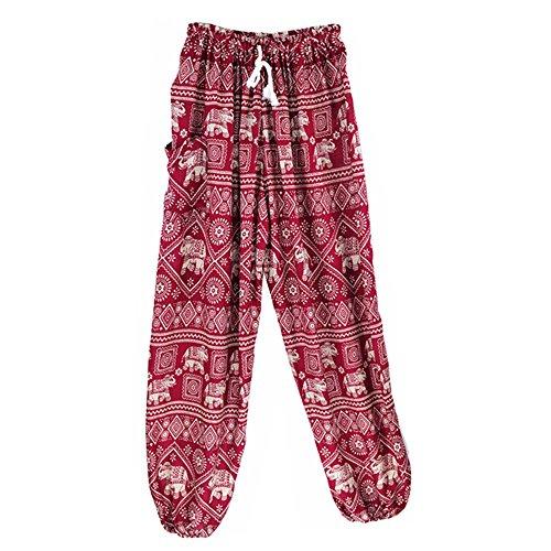 MaaMgic - Pantalón - para mujer rojo rojo