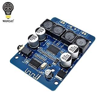 WAVGAT TPA3118 2x30W DC 8-26V Stereo Audio Bluetooth Digital Power Amplifier Board for DIY