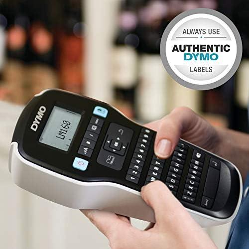DYMO Label Maker  LabelManager 160 Portable Label Maker EasytoUse OneTouch Smart Keys QWERTY