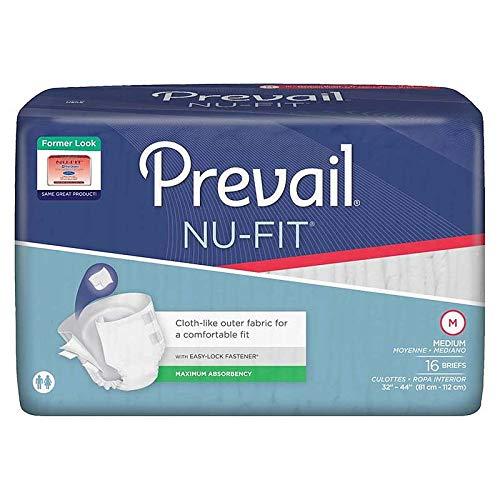 Prevail Nu-Fit Adult Brief Medium 32