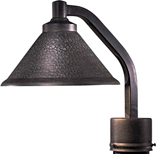 Minka Lavery Outdoor 8106-A138, Kirkham Dark Sky Dark Sky Outdoor Post Lighting, 60 Watts, Bronze Dark Sky Outdoor Lighting