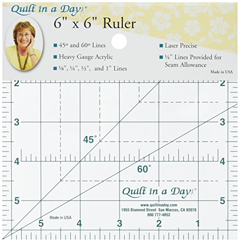 Quilt In A Day Ruler-6