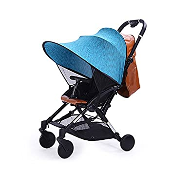 Baby Stroller Sun Visor Carriage Sun Shade Canopy Cover for Prams Stroller Accessories Car Seat Buggy  sc 1 st  Amazon.com & Amazon.com : Baby Stroller Sun Visor Carriage Sun Shade Canopy Cover ...