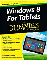 Windows 8 For Tablets For Dummies Front Cover