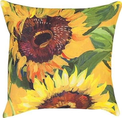 Amazon Com Sunflower Indoor Outdoor Weather Resistant Fabric