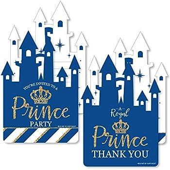 Amazon.com: Royal Prince Charming – 20 invitaciones de ...