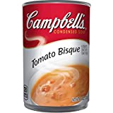 tomato bisque - Campbell's Condensed Soup, Tomato Bisque, 11 Ounce (Pack of 12)