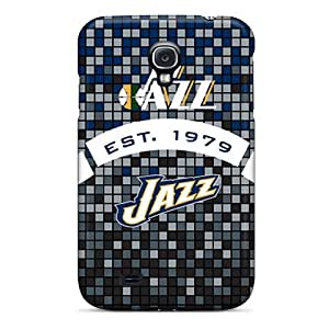 New Style Tpu S4 Protective Case Cover/ Galaxy Case - Utah Jazz