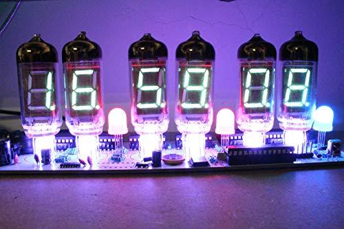 NIXT CLOCK - DIY IV11 VFD Clock DIY Electronic Soldering Kit Nixie era VFD Tube (Best Nixie Clock Kit)