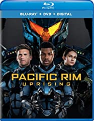 """John Boyega (Star Wars series) is the rebellious Jake Pentecost, a once-promising Jaeger pilot whose legendary father gave his life to secure humanity's victory against the monstrous """"Kaiju"""". Now an even more fearsome alien threat has been un..."""