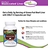 Perfect Desiccated Liver Capsules, 100% Grass Fed