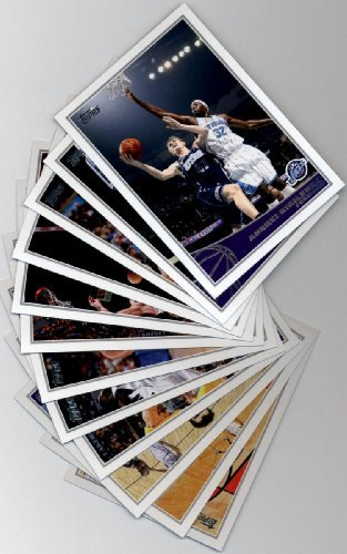 (2009 10 Topps Basketball Utah Jazz Complete Team Set of 12 cards including Deron Williams, C.J. Miles, Carlos Boozer, Andrei Kirilenko and more )