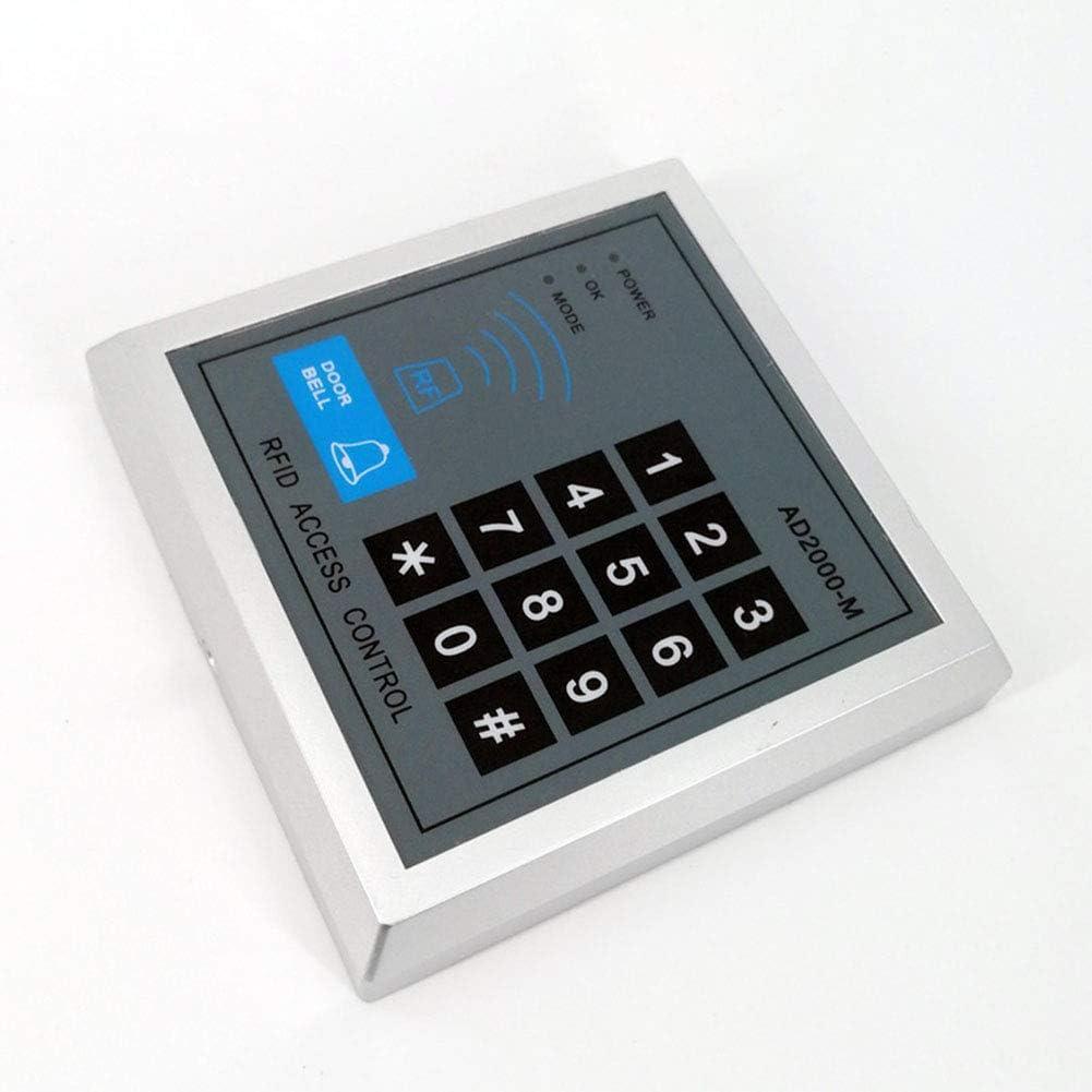ETbotu Security RFID Proximity Lock Control System for Entry Door with 10 Keys Senser Reader AD2000-M