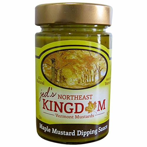 Jed's Northeast Kingdom Vermont Made Condiments - Maple Mustard - 7.5 oz.