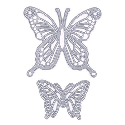 Dies Cut Cutting Die for Cards Making Butterfly Metal Embossing Stencils for DIY Craft Scrapbooking Photo Album Decorative Paper Gift (Dies 42 -