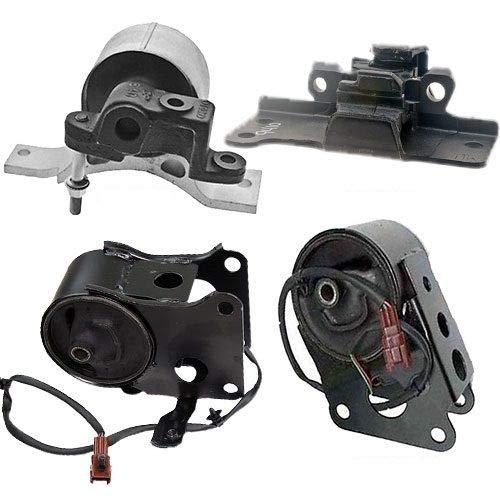 K0002 Fits 2004-2006 Nissan Maxima 3.5L Engine Motor &Transmission Mount w/Sensor 4 PCS : A7349EL A7348,A7351,A7358EL