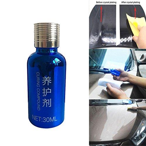 MR FIX 10H Hight Hardness Car Liquid, 30ML Car Coating Kit Liquid Glass Ceramic Coat Auto Protection Paint Care Polish by ZYooh