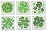 Fun Express - Shamrock Patterned Tattoos for St. Patrick's Day - Apparel Accessories - Temporary Tattoos - Regular Tattoos - St. Patrick's Day - 72 Pieces: more info