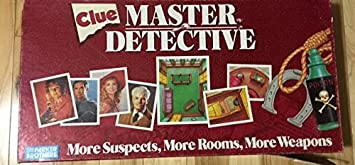 Clue Master Detective Board Game by Clue: Amazon.es: Juguetes y juegos