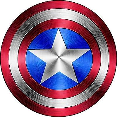 Foxy21 Captain America Shield Vinyl Sticker DecalSIZES (4