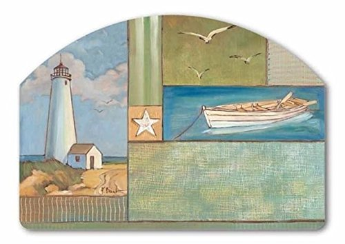 Nautical Collage Summer Interchangeable Mangetic Yard DeSign by Magnet - Magnet Interchangeable
