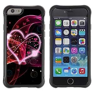 "Hypernova Defender Series TPU protection Cas Case Coque pour Apple Iphone 6 [Amo el rosa""]"