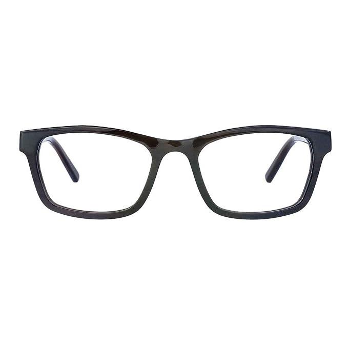 Amazon.com: Francis Foch - Gafas de cuerno con bisagra ...