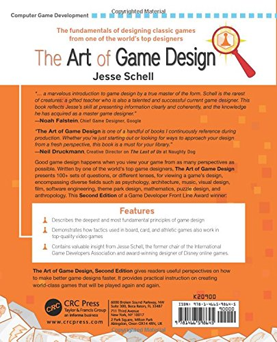 The Art of Game Design: A Book of Lenses, Second Edition: Jesse ...