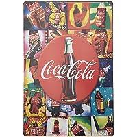 MARQUISE & LOREAN Coca Cola Placas Decorativas Pared