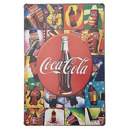 Carteles y placas de coca cola posters vintage met licos - Chapa coca cola pared ...