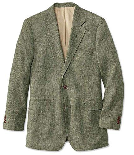 Silk Sports Coat (Orvis Silk Tweed Sport Coat / Regular, Sage, 42)