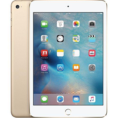Apple iPad mini 4 Tablet (128GB, Gold, 7.9 Inch, 2017 Model, WiFi) + Accessories Bundle (10.00mAh iPad Power Bank, iPad Stylus Pen, Microfiber Cloth) MK9Q2LL/A by Apple Tablet (Image #3)