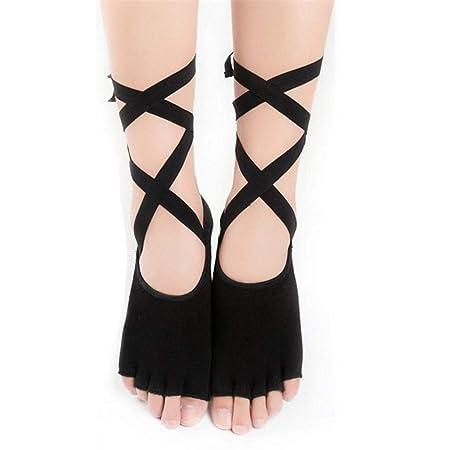 Calcetines de yoga Correas de Silicona Antideslizantes ...