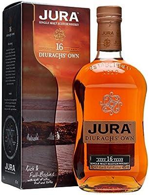 Jura 16 YO Diurachs Own (con estuche) 70cl. Isle of Jura. 1un.: Amazon.es: Alimentación y bebidas