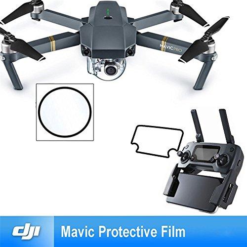 Bestmaple ドローン用 カメラレンズとリモコンのスクリーンの保護フィルム二つずつ 5枚セットfor DJI Mavic Pro