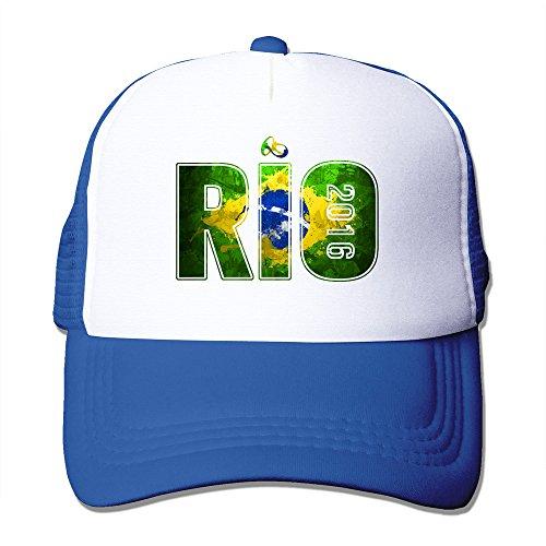 CEDAEI World Football Fans Union 2016 Outdoor Mesh Sun Cap AdjustableRoyalBlue ()