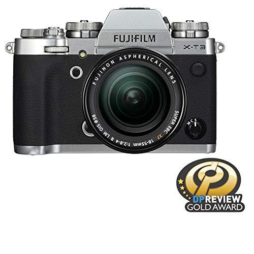 Fujifilm X-T3 Mirrorless Digital Camera w/XF18-55mm Lens Kit - Silver from Fujifilm
