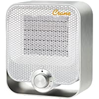 Crane USA Personal Space Heater, White