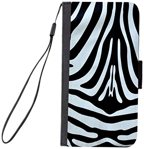Rikki Knight Premium PU Wallet Flip Case with Kickstand and Magnetic Flap for iPhone 7 PLUS - Zebra Body Design