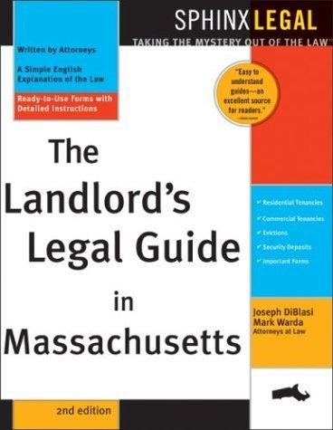 Landlord's Legal Guide in Massachusetts by Joseph Diblasi - Shopping Malls Massachusetts In