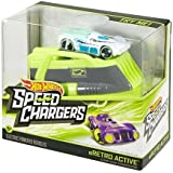 Hot Wheels SPEED CHARGERS eRETRO ACTIVE Car & Charger