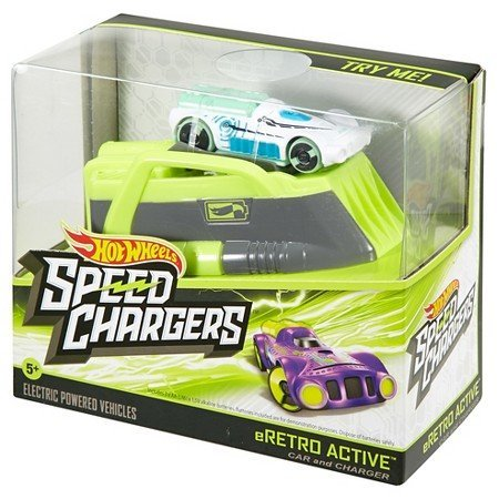 Active Wheel (Hot Wheels SPEED CHARGERS eRETRO ACTIVE Car & Charger)