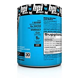 BPI Sports Best BCAA Powder, Watermelon Ice, 10.58 Ounce