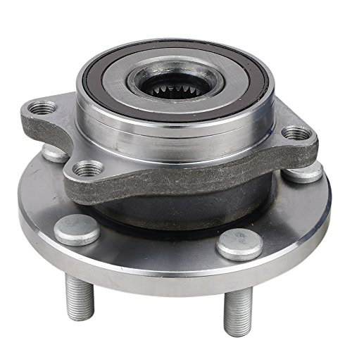 CRS NT513302 New Wheel Bearing Hub Assembly, Front Left (Driver)/ Right (Passenger) Side, for Subaru Impreza 2004-2014/ Outback 2015-2016/ Legacy 2015-2016