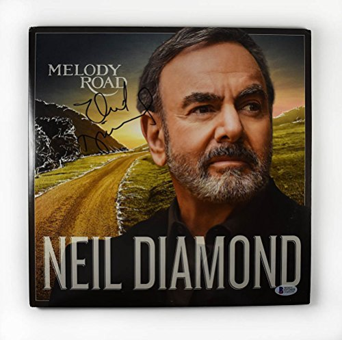 (Neil Diamond Melody Road Signed Record Album LP Certified Authentic Beckett BAS COA)
